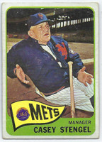 1965 Topps Baseball 187 Casey Stengel
