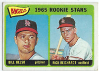 1965 Topps Baseball 194 Angels Rookies  [SKU:Y65_T65BB_194a_2gvgrs]  Good to Very Good
