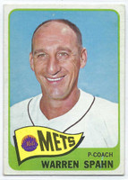 1965 Topps Baseball 205 Warren Spahn