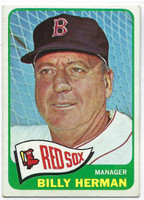 1965 Topps Baseball 251 Billy Herman  [SKU:Y65_T65BB_251a_4vgers]  Boston Red Sox Very Good to Excellent