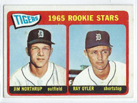 1965 Topps Baseball 259 Tigers Rookies  [SKU:Y65_T65BB_259a_5exrs]  Excellent