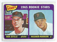 1965 Topps Baseball 282 Giants Rookies  [SKU:Y65_T65BB_282a_5exrs]  Excellent