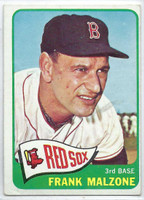 1965 Topps Baseball 315 Frank Malzone