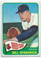 1965 Topps Baseball 356 Bill Spanswick  [SKU:Y65_T65BB_356a_4vgers]  Boston Red Sox Very Good to Excellent