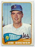 1965 Topps Baseball 416 Jim Brewer High Number