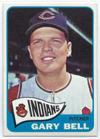 1965 Topps Baseball 424 Gary Bell High Number  [SKU:Y65_T65BB_424a_6exmrs]  Cleveland Indians Excellent to Mint