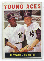 1964 Topps Baseball 219 Young Aces  [SKU:Y64_T64BB_219a_3vgrs]  New York Yankees Very Good