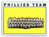 1964 Topps Baseball 293 Phillies Team  [SKU:Y64_T64BB_293a_5exprs]  Excellent to Excellent Plus
