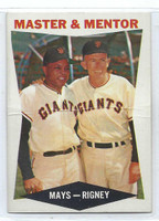 1960 Topps Baseball 7 Master Mentor  [SKU:Y60_T60BB_007a_1prrs]  San Francisco Giants Poor