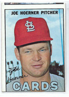 1967 Topps Baseball 41 Joe Hoerner