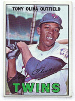 1967 Topps Baseball 50 Tony Oliva