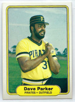 1982 Fleer Baseball 489 Dave Parker Pittsburgh Pirates Near-Mint to Mint