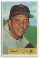1954 Bowman Baseball 30 Del Rice  [SKU:Y54_BW54BB_030a_5exrs]  St. Louis Cardinals Excellent