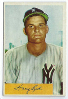 1954 Bowman Baseball 49 Harry Byrd  [SKU:Y54_BW54BB_049a_4vgers]  New York Yankees Very Good to Excellent