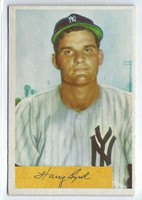 1954 Bowman Baseball 49 Harry Byrd  [SKU:Y54_BW54BB_049a_6exmrs]  New York Yankees Excellent to Mint