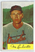 1954 Bowman Baseball 53 Don Lenhardt 969 FA  [SKU:Y54_BW54BB_053a_6exmrs]  Baltimore Orioles Excellent to Mint