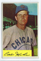 1954 Bowman Baseball 61 Eddie Miksis 962 FA  [SKU:Y54_BW54BB_061a_5exprs]  Chicago Cubs Excellent to Excellent Plus