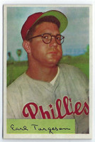 1954 Bowman Baseball 63 Earl Torgeson  [SKU:Y54_BW54BB_063a_6exmrs]  Philadelphia Phillies Excellent to Mint