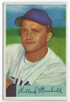 1954 Bowman Baseball 70 Willard Marshall  [SKU:Y54_BW54BB_070a_6exmrs]  Chicago White Sox Excellent to Mint