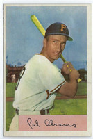 1954 Bowman Baseball 91 Cal Abrams  [SKU:Y54_BW54BB_091a_5exprs]  Pittsburgh Pirates Excellent to Excellent Plus
