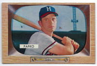 1955 Bowman Baseball 12 Andy Pafko  [SKU:Y55_BW55BB_012a_4vgers]  Milwaukee Braves Very Good to Excellent