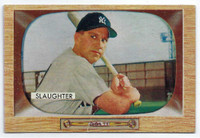 1955 Bowman Baseball 60 Enos Slaughter