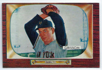 1955 Bowman Baseball 123 Marv Grissom  [SKU:Y55_BW55BB_123a_5exprs]  New York Giants Excellent to Excellent Plus