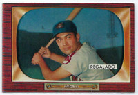 1955 Bowman Baseball 142 Rudy Regalado  [SKU:Y55_BW55BB_142a_6exmrs]  Cleveland Indians Excellent to Mint