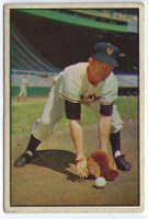 1953 Bowman Color Baseball 1 Davey Williams