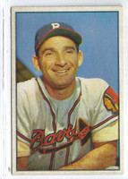 1953 Bowman Color Baseball 5 Sid Gordon