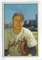 1953 Bowman Color Baseball 6 Joe Ginsberg