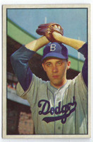 1953 Bowman Color Baseball 14 Billy Loes