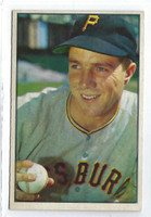 1953 Bowman Color Baseball 16 Bob Friend