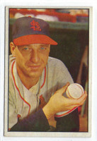 1953 Bowman Color Baseball 17 Gerry Staley