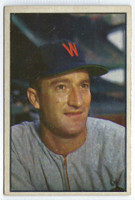 1953 Bowman Color Baseball 22 Bob Porterfield