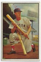 1953 Bowman Color Baseball 25 Hoot Evers