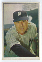 1953 Bowman Color Baseball 27 Vic Raschi