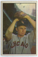1953 Bowman Color Baseball 50 Lou Kretlow