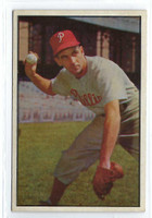 1953 Bowman Color Baseball 60 Granny Hamner