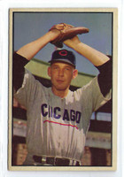 1953 Bowman Color Baseball 71 Paul Minner