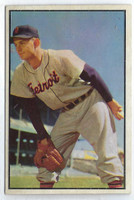 1953 Bowman Color Baseball 72 Ted Gray