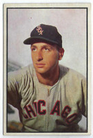 1953 Bowman Color Baseball 75 Saul Rogovin