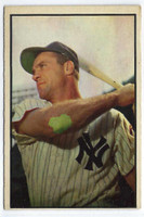 1953 Bowman Color Baseball 84 Hank Bauer