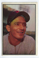 1953 Bowman Color Baseball 89 Sandy Consuegra