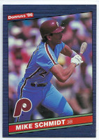1986 Donruss Baseball Mike Schmidt Philadelphia Phillies Near-Mint to Mint