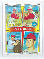 1986 Topps Baseball 3 Rose Special 67-70 Cincinnati Reds Near-Mint to Mint