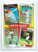 1986 Topps Baseball 4 Rose Special 71-74 Cincinnati Reds Near-Mint to Mint