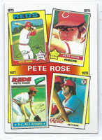 1986 Topps Baseball 5 Rose Special 75-78 Cincinnati Reds Near-Mint to Mint