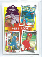 1986 Topps Baseball 7 Rose Special 83-85 Cincinnati Reds Near-Mint to Mint