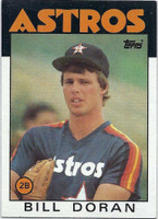 1986 Topps Baseball 57 Bill Doran Houston Astros Near-Mint to Mint
